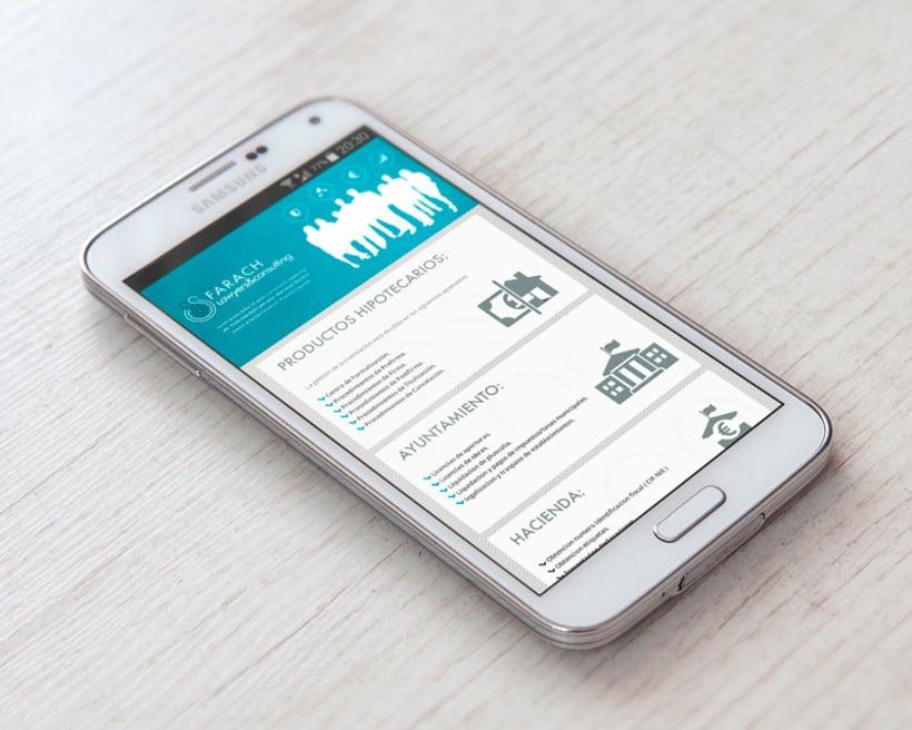 Consultores Farach Diseño web responsive 1