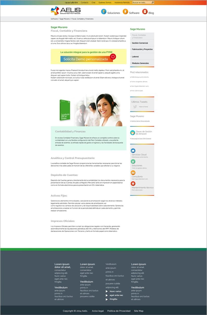 Aelis - web corporativa 3