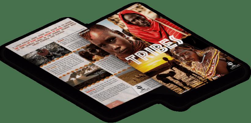 Flyer Documental Tribus 0