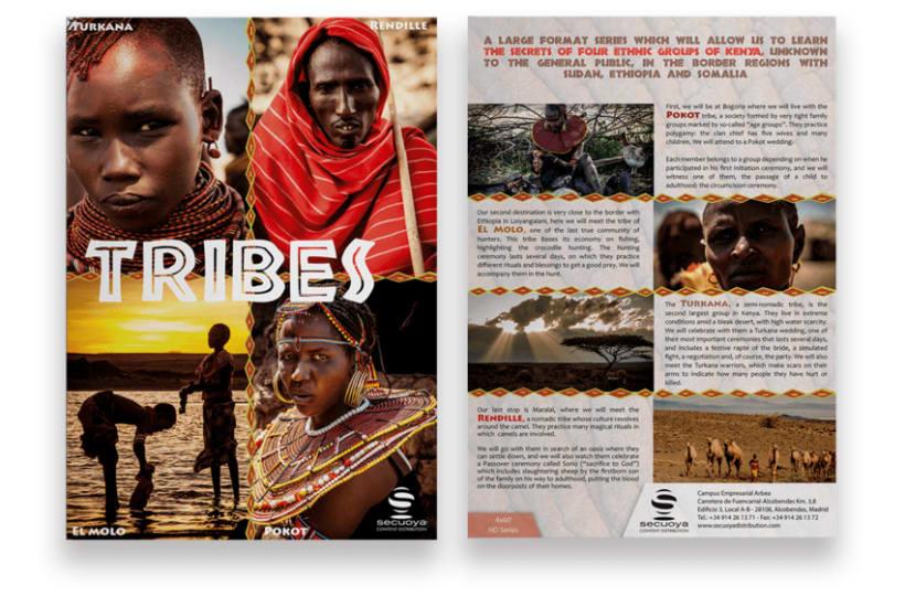 Flyer Documental Tribus 1