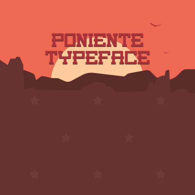 Poniente Typeface -1