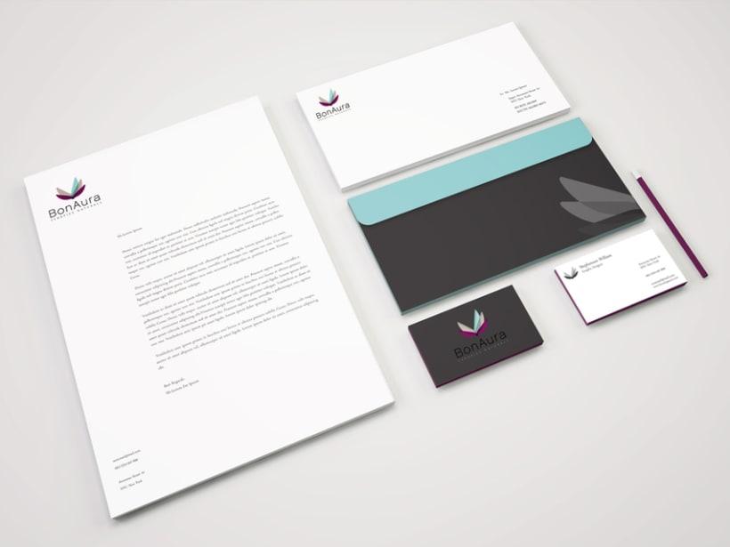 BONAURA · Branding -Web Design 3