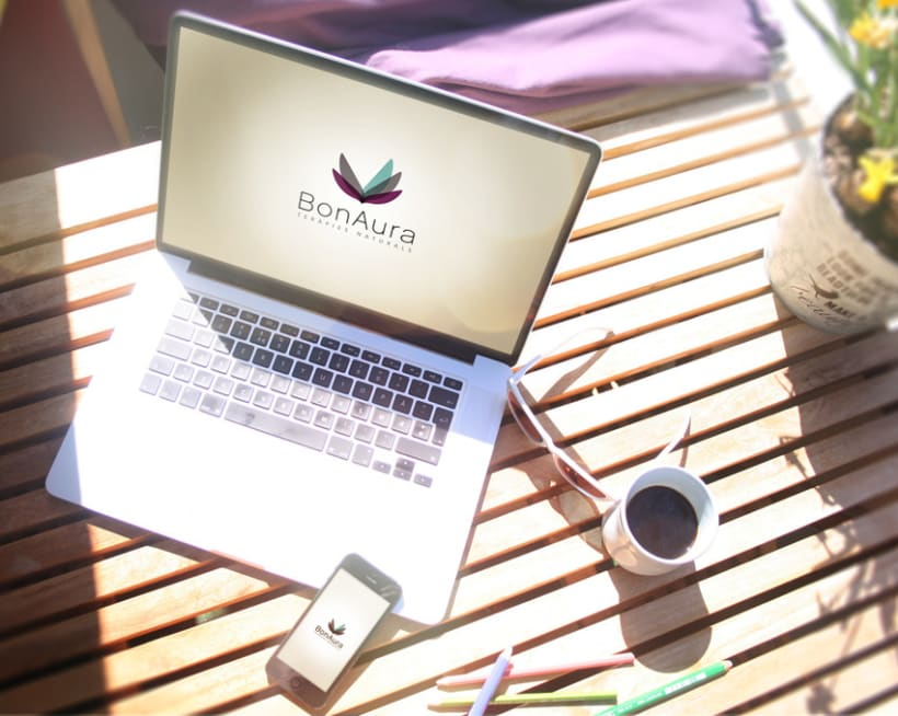 BONAURA · Branding -Web Design 4