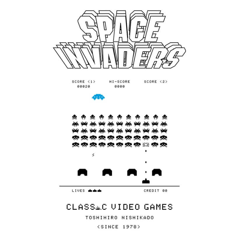 CLASSIC VIDEO GAMES INVADERS 2