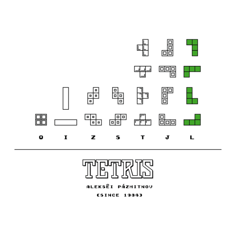CLASSIC VIDEO GAMES TETRIS 3