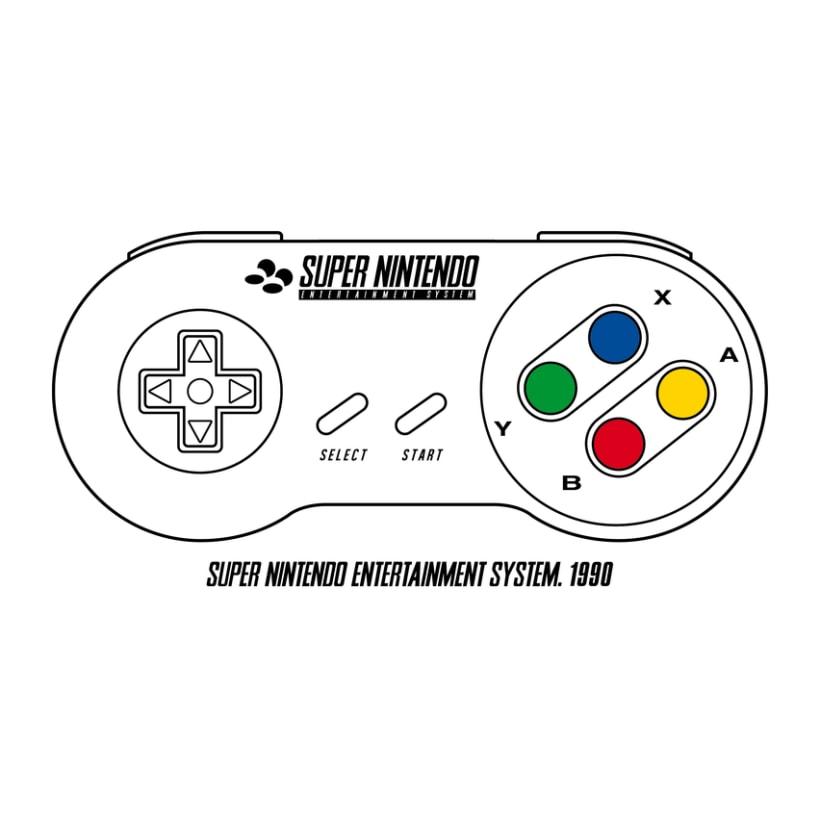 RETRO CONTROLLERS NINTENDO & SEGA 4