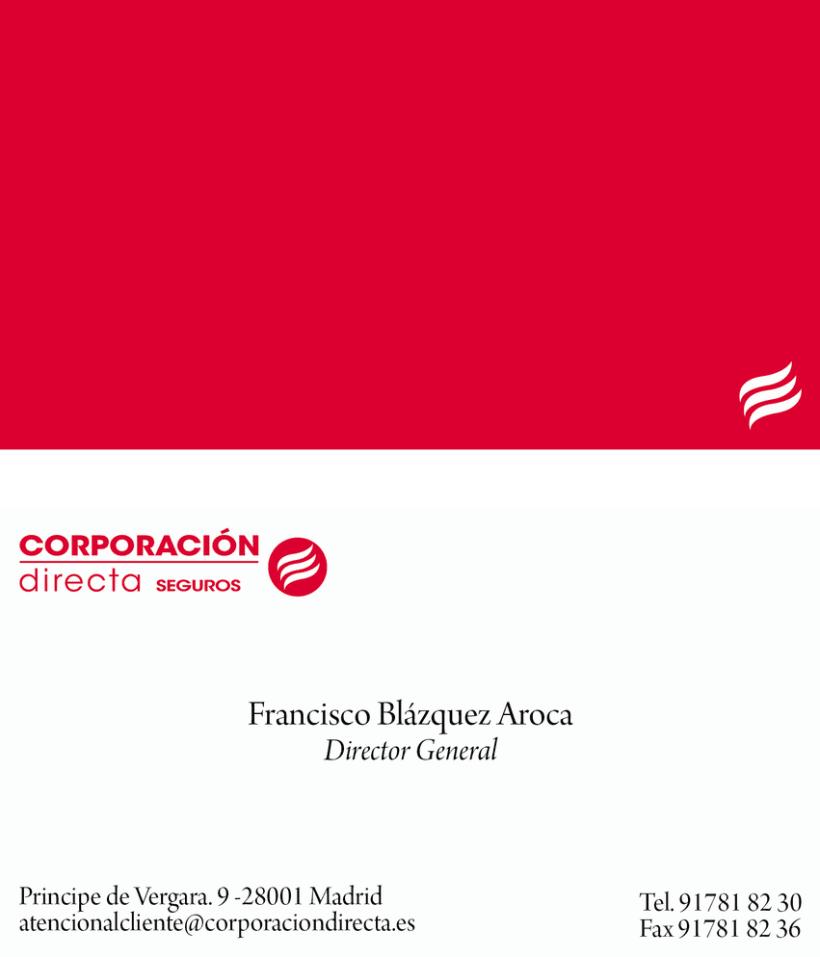 LOGO Y TARJETAS CORPORACION DIRECTA 1