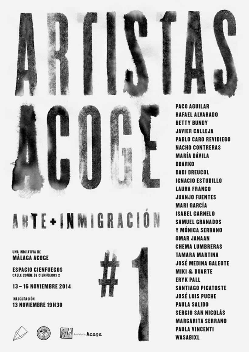 Exposición Artistas Acoge 0
