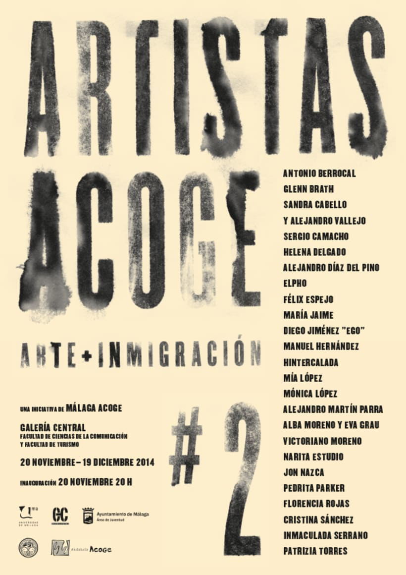 Exposición Artistas Acoge 1