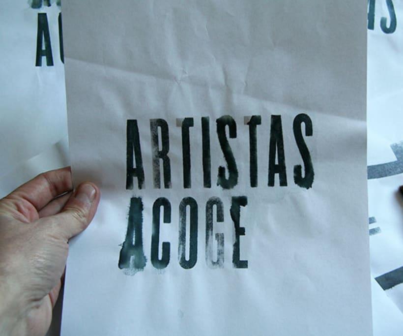 Exposición Artistas Acoge 3