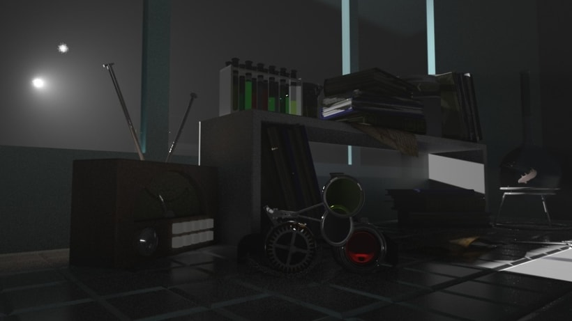 3D cg challenge ilumination -1