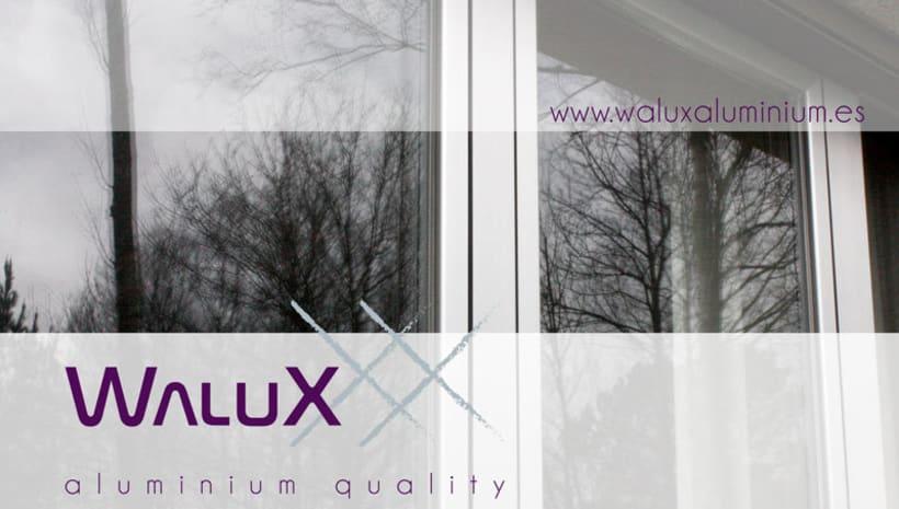 Identidad corporativa de Walux 1