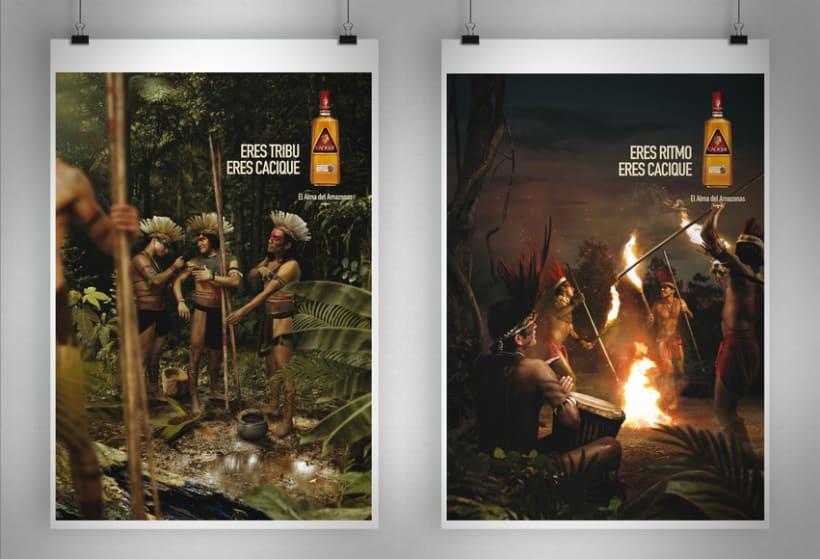 """Cacique Ron Añejo """"El alma del Amazonas"""" 1"""