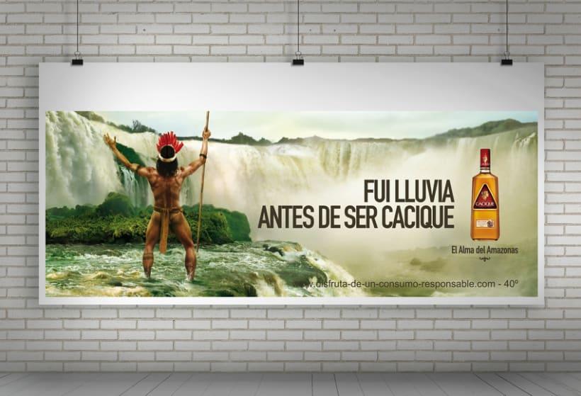 """Cacique Ron Añejo """"El alma del Amazonas"""" 4"""