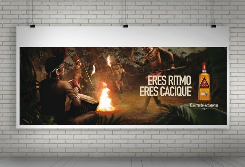 """Cacique Ron Añejo """"El alma del Amazonas"""" 2"""