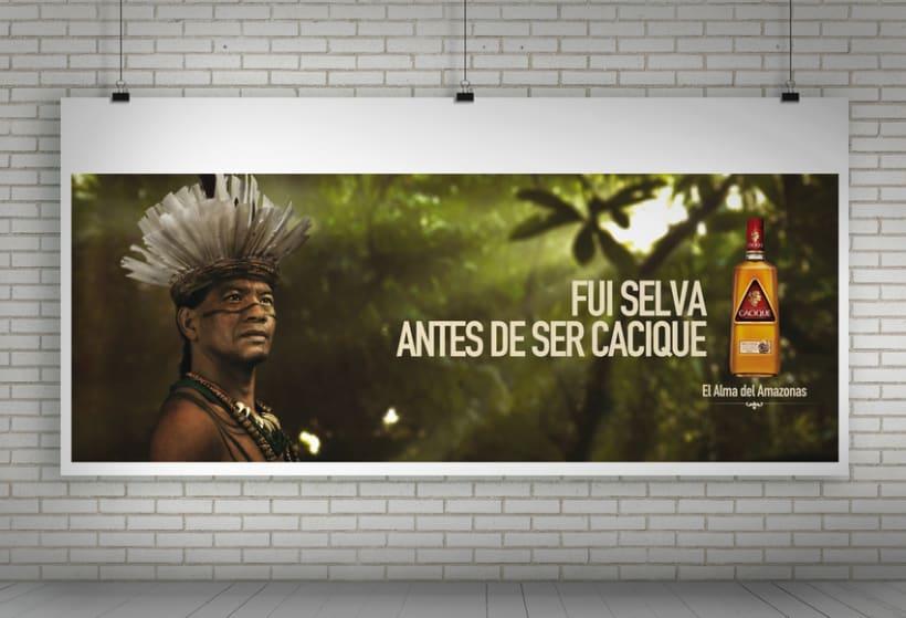 """Cacique Ron Añejo """"El alma del Amazonas"""" 5"""