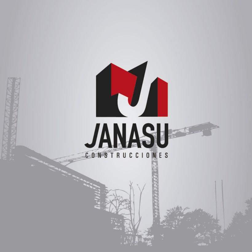 Identidad corporativa de Janasú construcciones 1