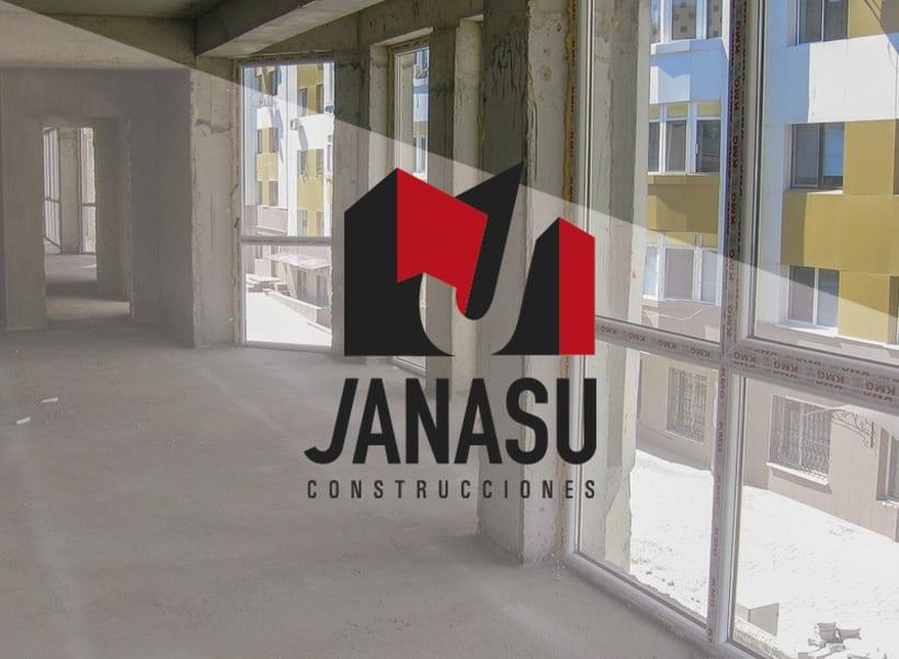 Identidad corporativa de Janasú construcciones 2