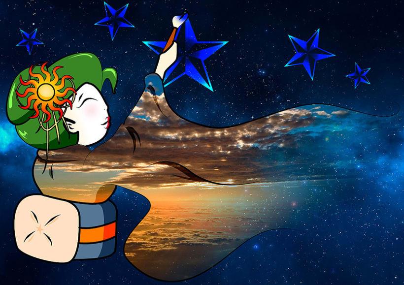Drawing Skies -1