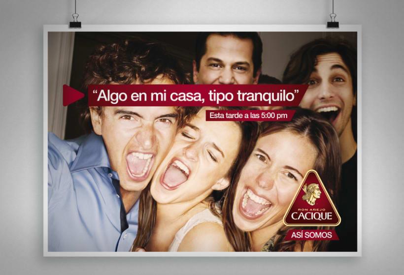 """Cacique Ron Añejo """"Así somos"""" 4"""