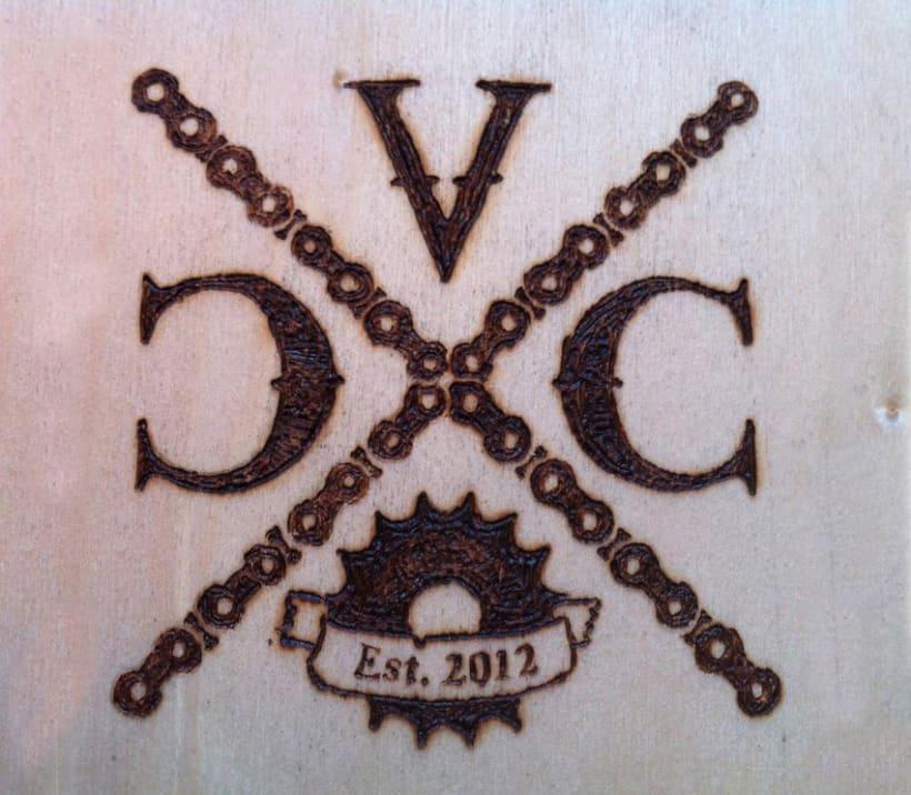 Identidad corporativa Velo Cycles Crew 1