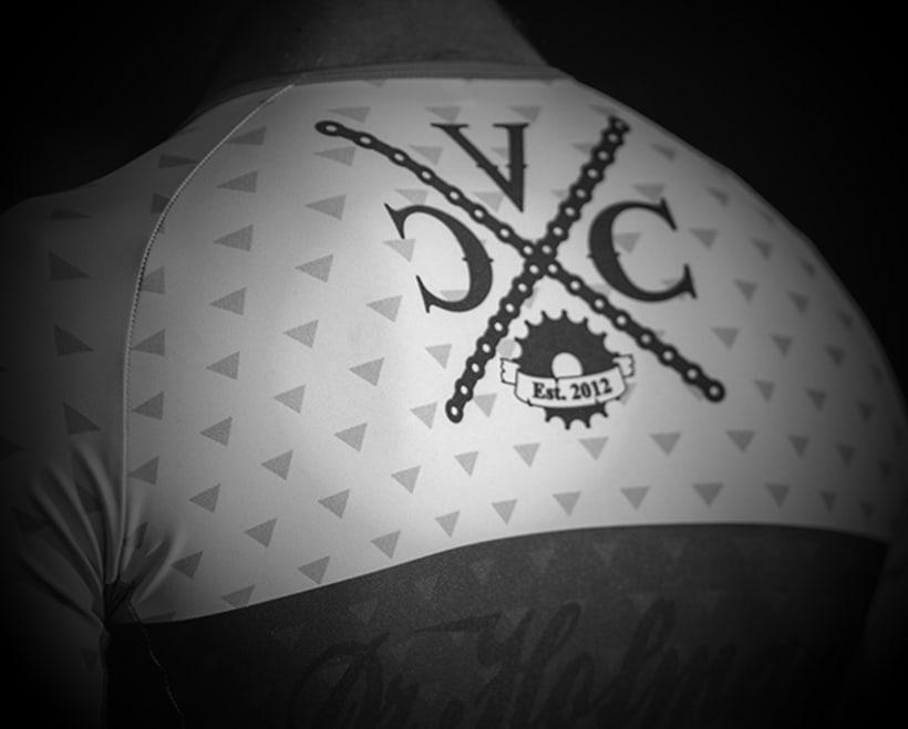 Identidad corporativa Velo Cycles Crew 3