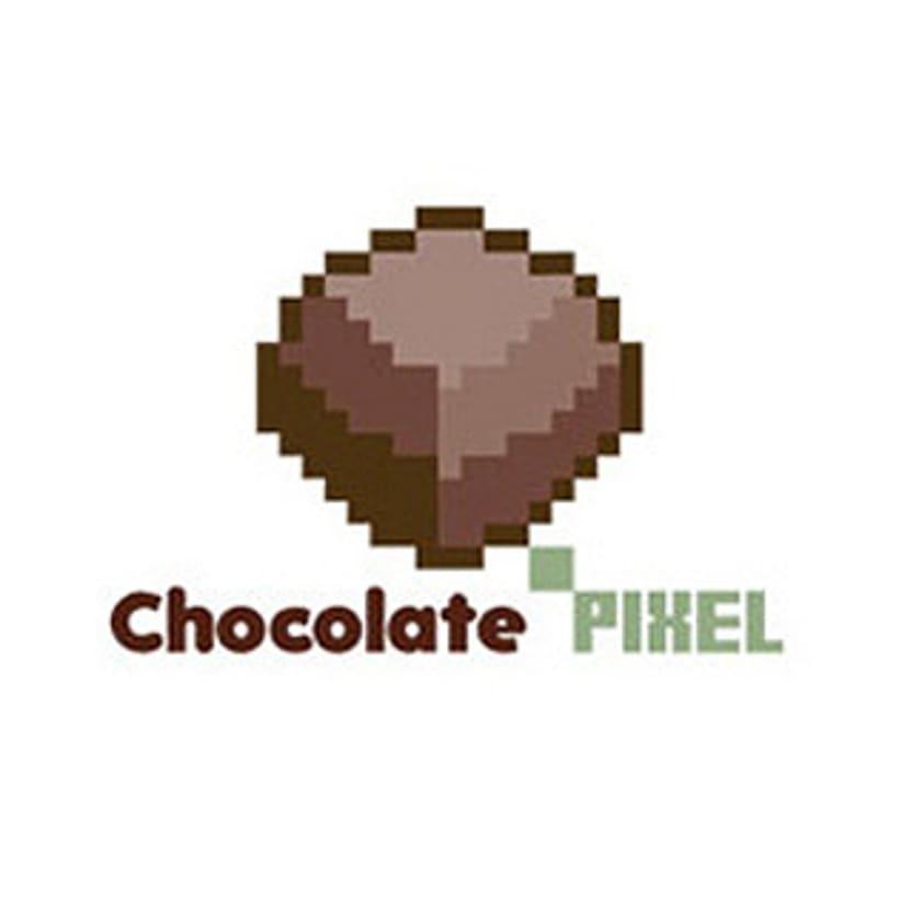 Chocolate Pixel logo 0