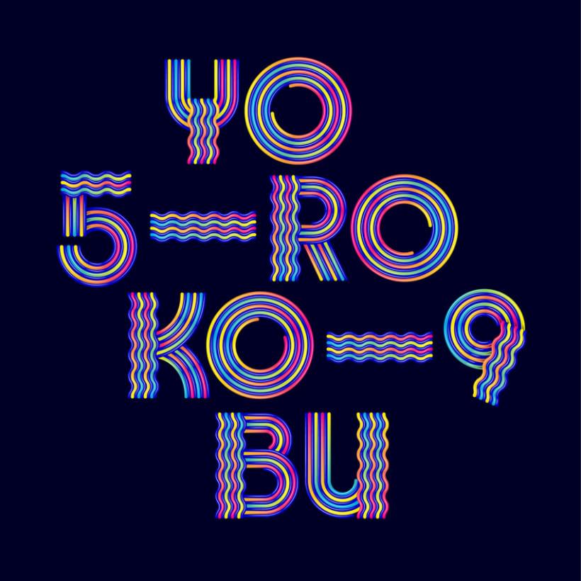 Numerografía Yorokobu 0