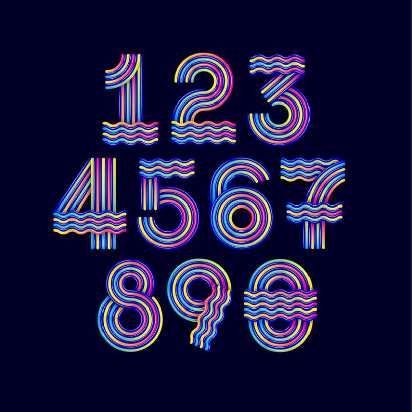 Numerografía Yorokobu 2