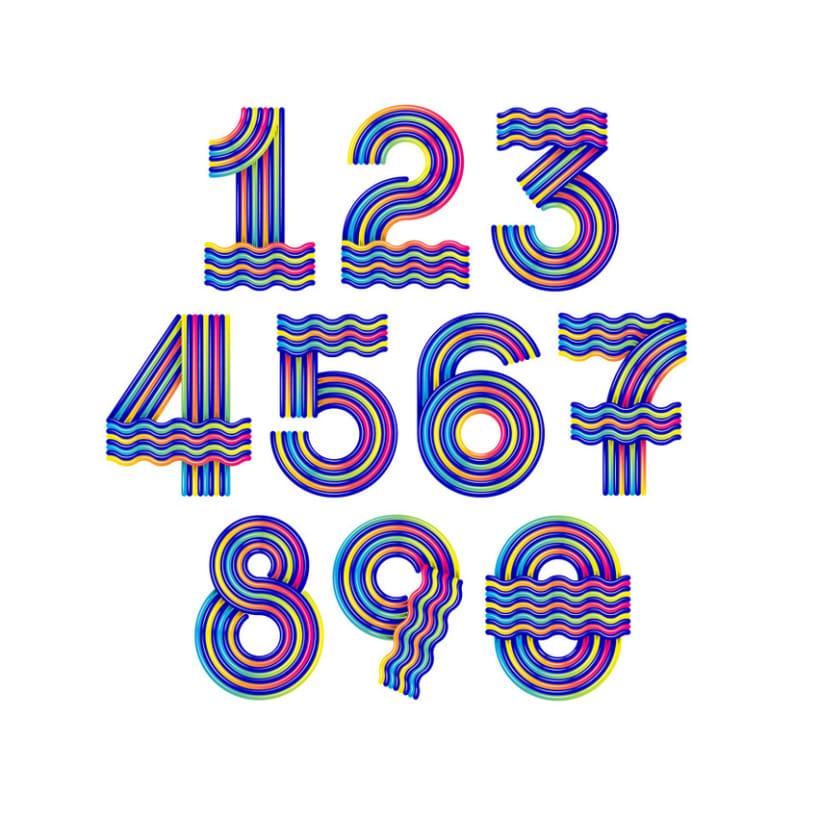 Numerografía Yorokobu 3