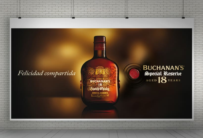 """Buchanan's Special Reserve 18 years """"Navidad""""  2"""