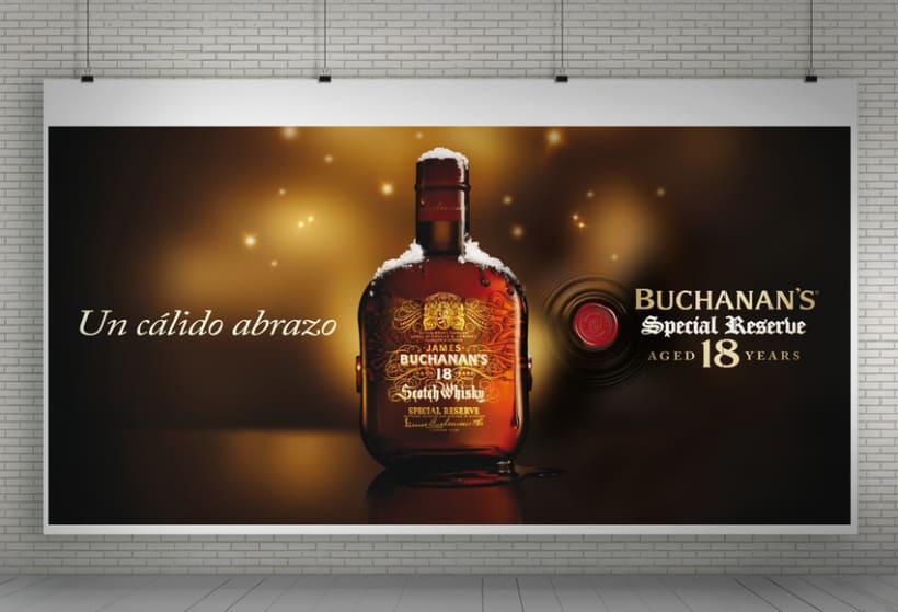 """Buchanan's Special Reserve 18 years """"Navidad""""  3"""
