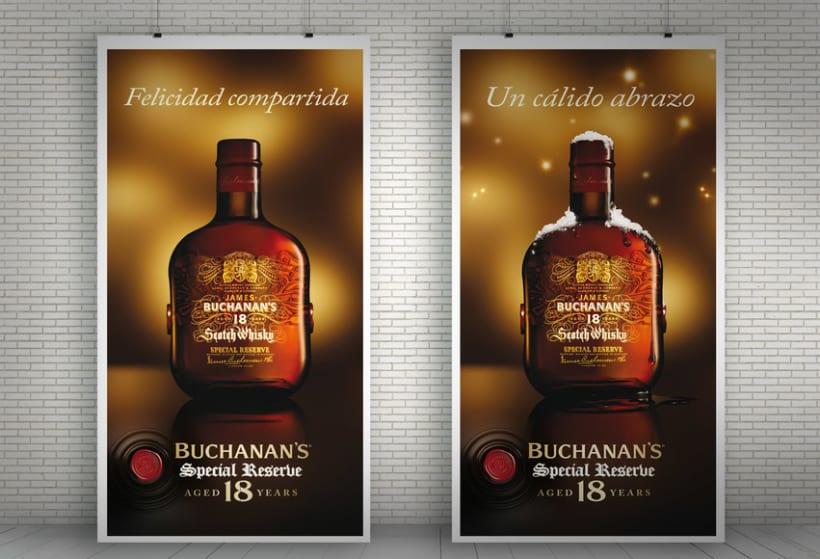 """Buchanan's Special Reserve 18 years """"Navidad""""  1"""