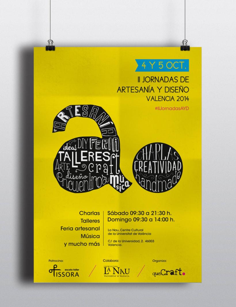 II Jornadas de artesanía y diseño Valencia 1