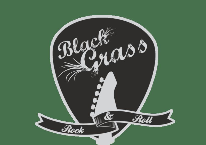 "Logo "" Black Grass "" 0"