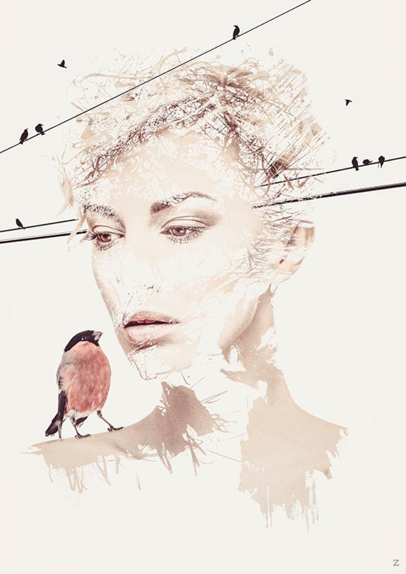 Pájaros en la cabeza 0