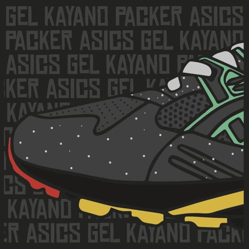 Asics Gel Kayano Packer 6