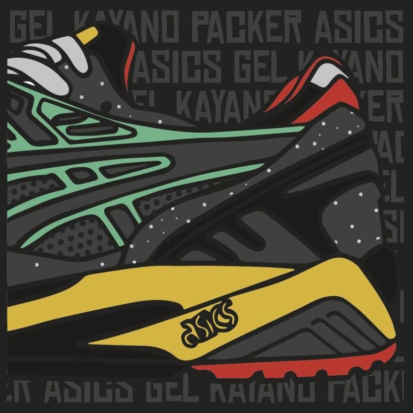 Asics Gel Kayano Packer 7