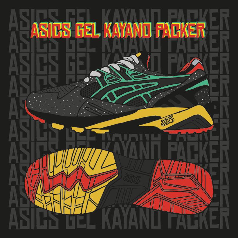 Asics Gel Kayano Packer 8