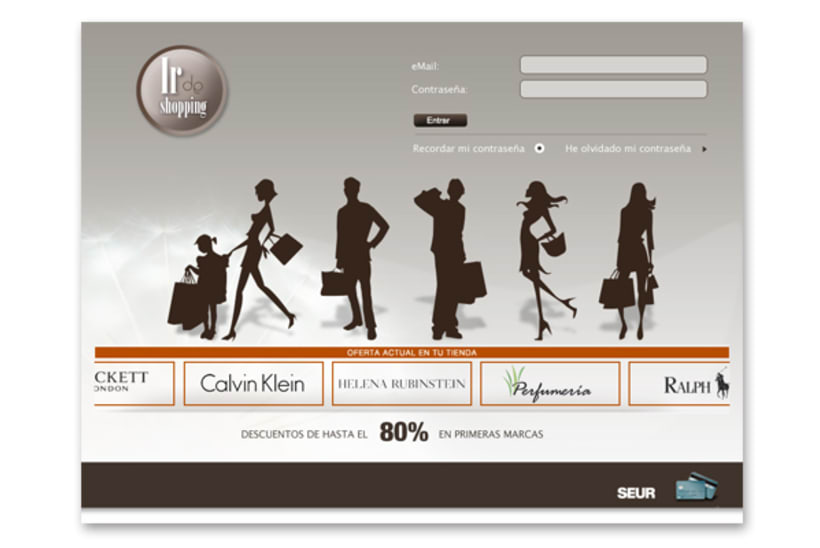 Ir de Shopping · diseño web 0