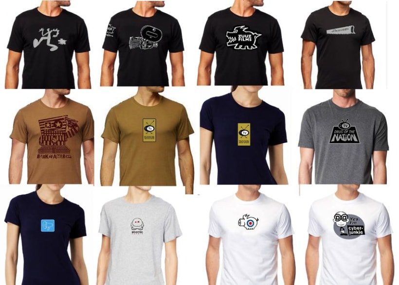camisetas, t-shirt  3