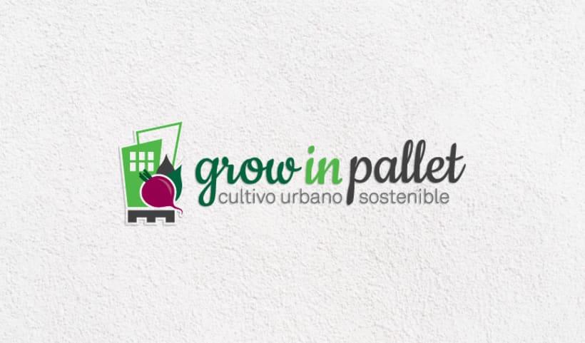 Grow in pallet 0