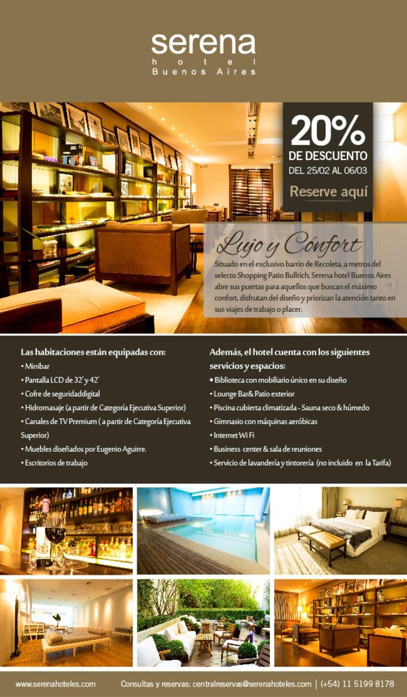 Newsletter Hotel Serena Buenos Aires -1