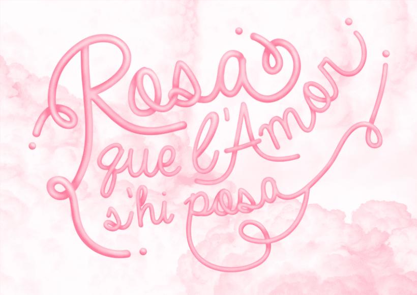 Frases fetes: Rosa 1