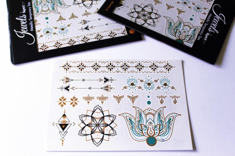 Diseño de tatuajes temporales para Gumtoo 26