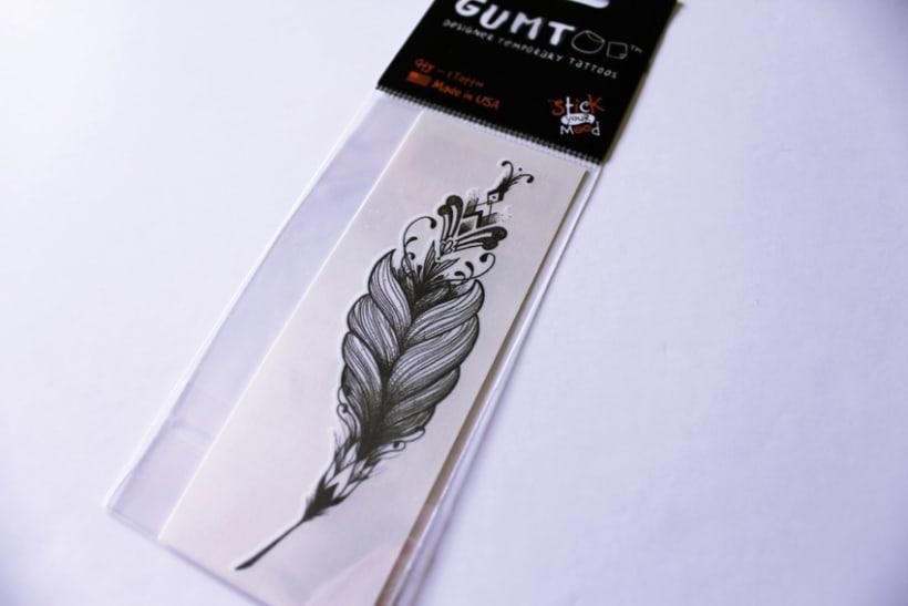 Diseño de tatuajes temporales para Gumtoo 9