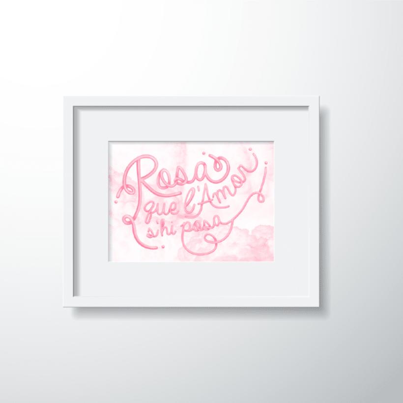 Frases fetes: Rosa 2
