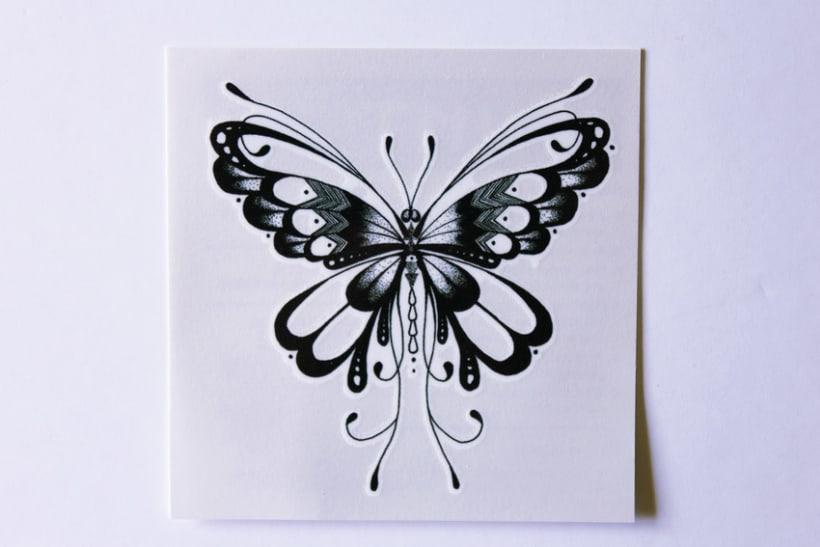 Diseño de tatuajes temporales para Gumtoo 15
