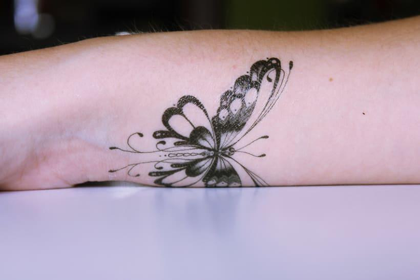 Diseño de tatuajes temporales para Gumtoo 17