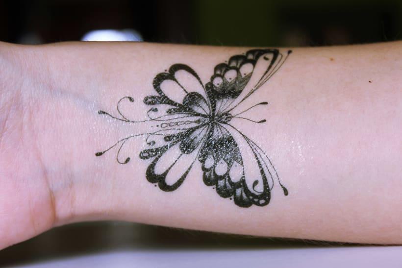 Diseño de tatuajes temporales para Gumtoo 18